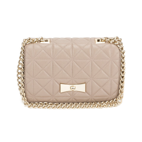 Kate Spade Beige Leather Sedgewick Place  (New with Tags)