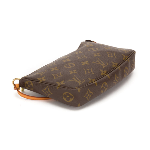 Louis Vuitton Monogram Pochette Bag (Authentic Pre Owned)