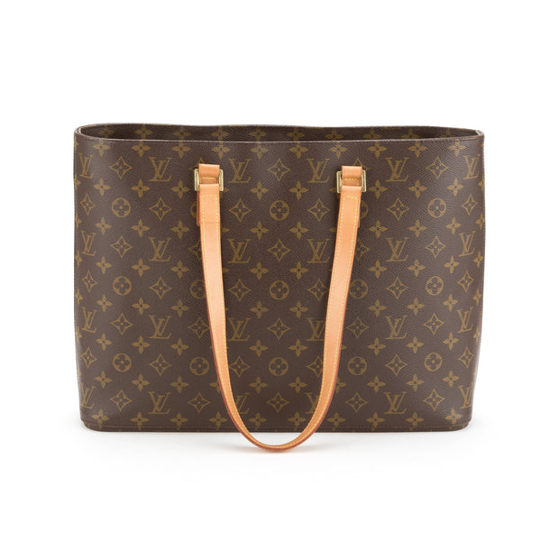 Louis Vuitton Monogram Luco Tote Bag (Pre Owned)