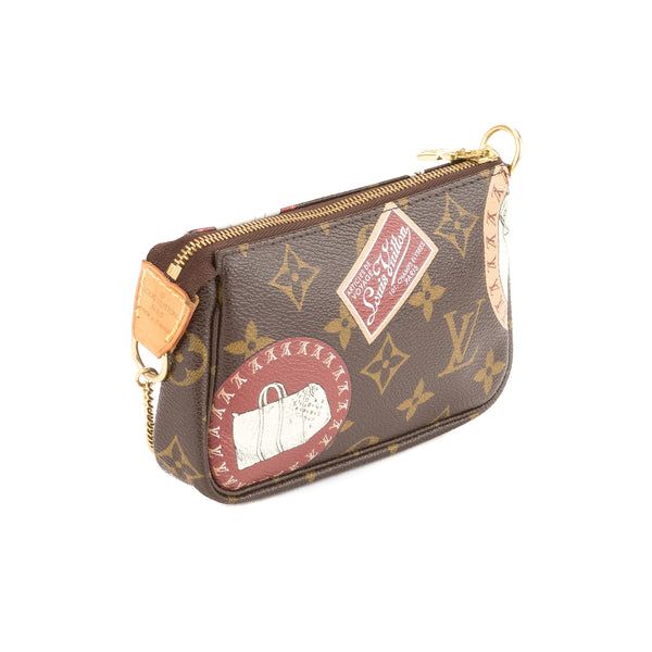 Louis Vuitton Monogram Mini Pochette (Pre Owned)