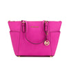 Michael Kors Fuchsia Leather E/W Logo Jet Set (New with Tags)