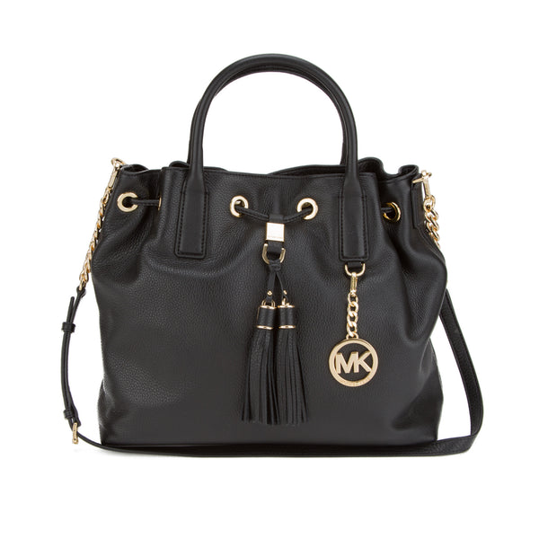 Michael Kors Black Camden LG Drawstring (New with Tags)