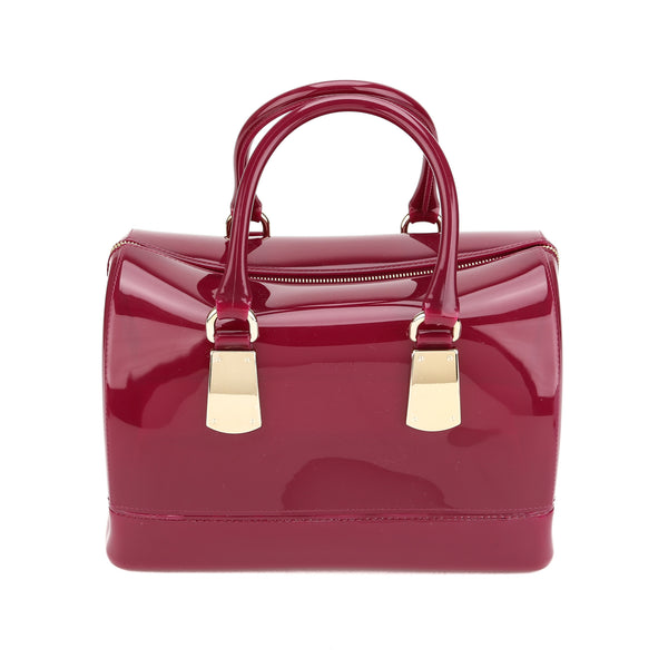 FURLA Mirto Purple Candy Medium Satchel (New with Tags)