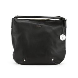 FURLA Black Alissa Hobo Medium (New with Tags)