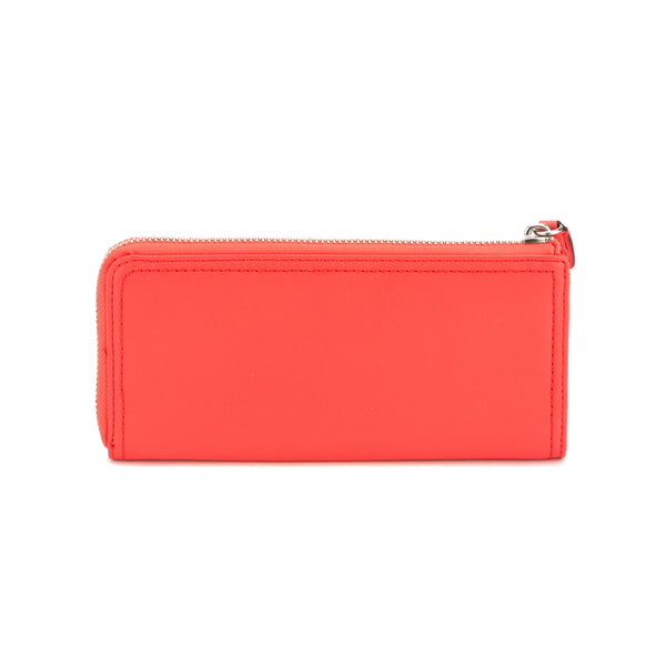 Coach  Red Coral Legacy Slip Zippy Wallet (New with Tags)