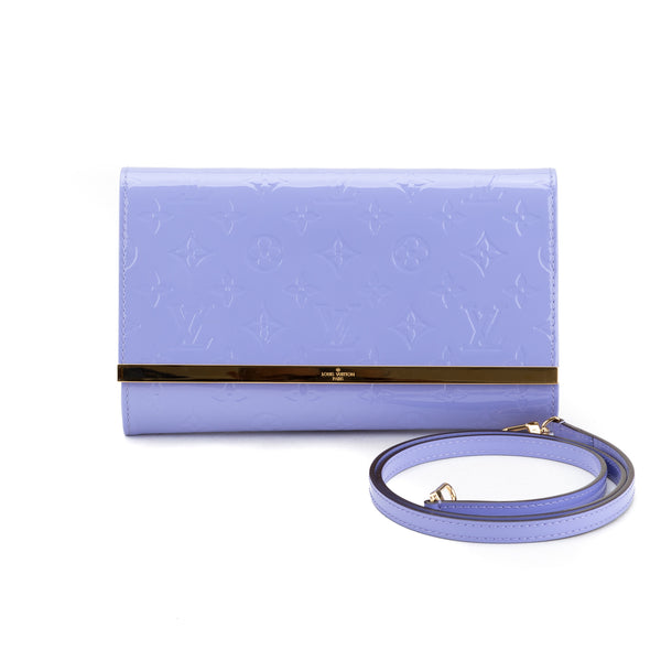 30f33fa85671 Louis Vuitton Lilac Vernis Ana Clutch Bag (Authentic Pre Owned ...