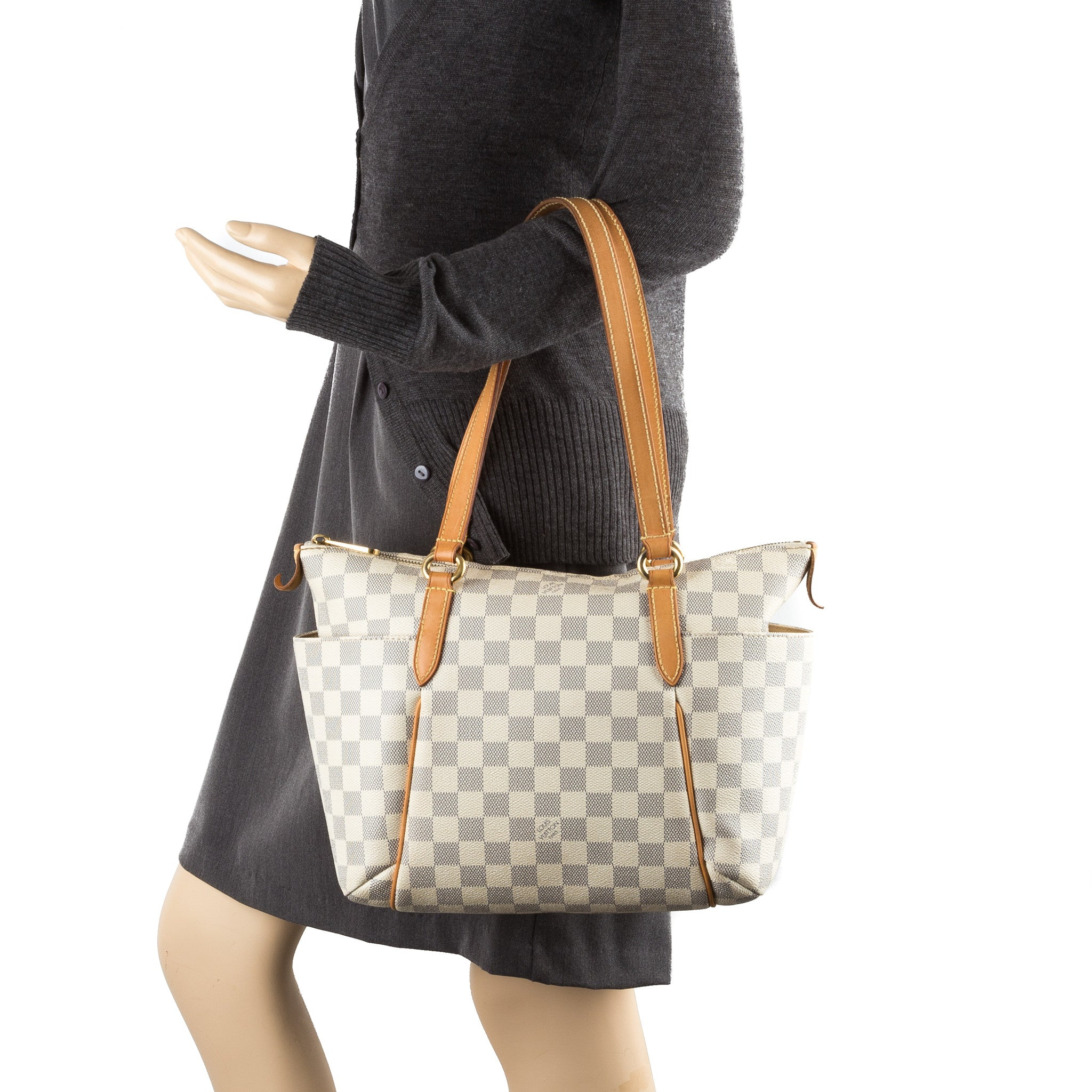 c4c94b8f05aa Louis Vuitton Damier Azur Totally PM Bag (Pre Owned) - 2340006