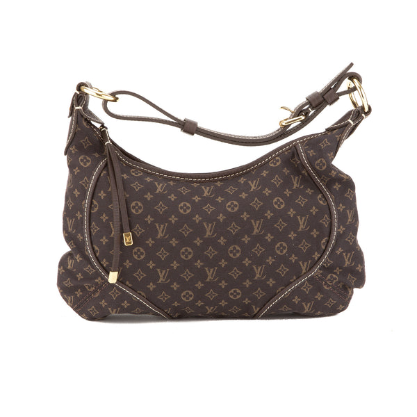 Louis Vuitton Brown Mini Lin Manon PM Bag (Authentic Pre Owned)