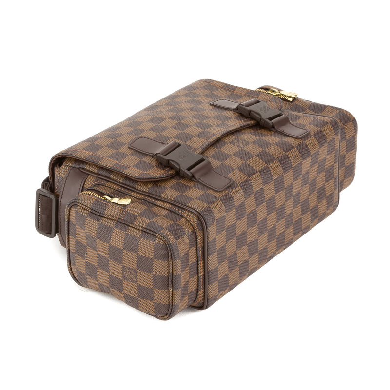Louis Vuitton Damier Ebene Reporter Melville PM Bag (Pre Owned)