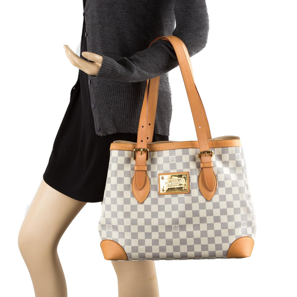 Louis Vuitton Damier Azur Hampstead MM Bag (Pre-Owned) - 2356003 ... ed4893666