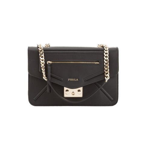 FURLA Black Alice Crossbody Bag  (New with Tags)