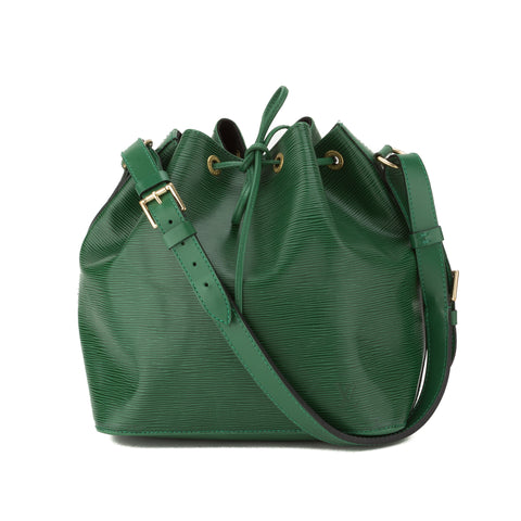 Louis Vuitton Green Epi Petit Noe Bag (Pre Owned)