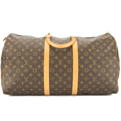 Louis Vuitton Monogram Keepall 55 Boston Bag (Authentic Pre Owned)