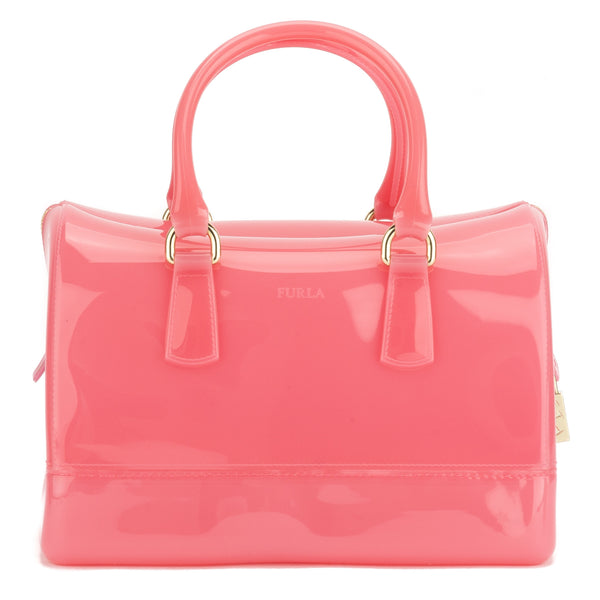 FURLA Pink Candy Medium Satchel (New with Tags)