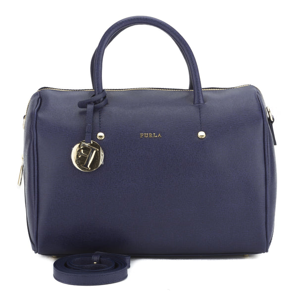 FURLA Blue Dolly Convertible Satchel Medium (New with Tags)