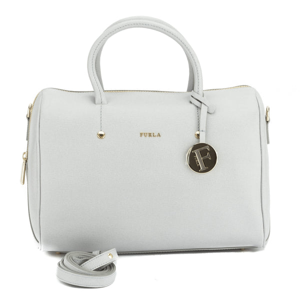 FURLA Gray Dolly Convertible Satchel Medium (New with Tags)
