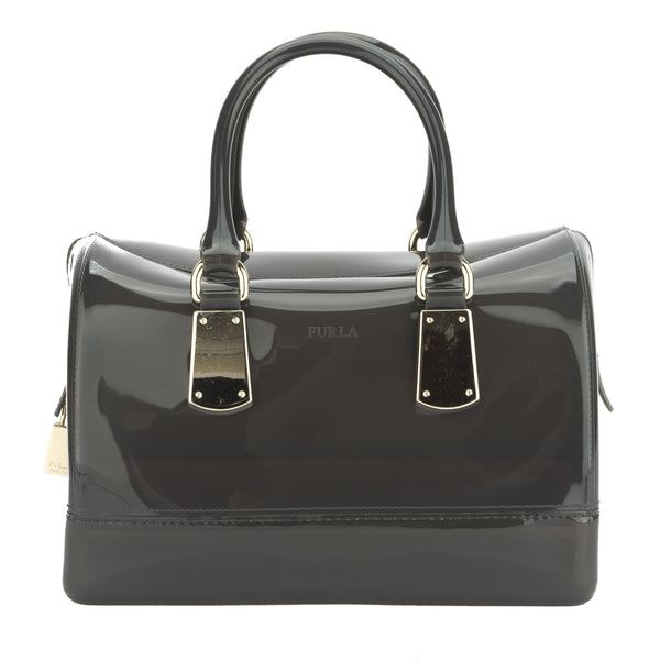 FURLA Gray Candy Medium Satchel (New with Tags)