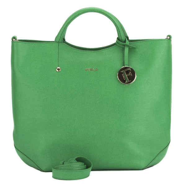 FURLA Green Alissa Large N/S Tote (New with Tags)