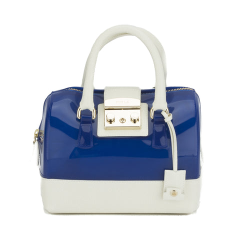 FURLA Bicolor Candy  Mini Satchel  (New with Tags)