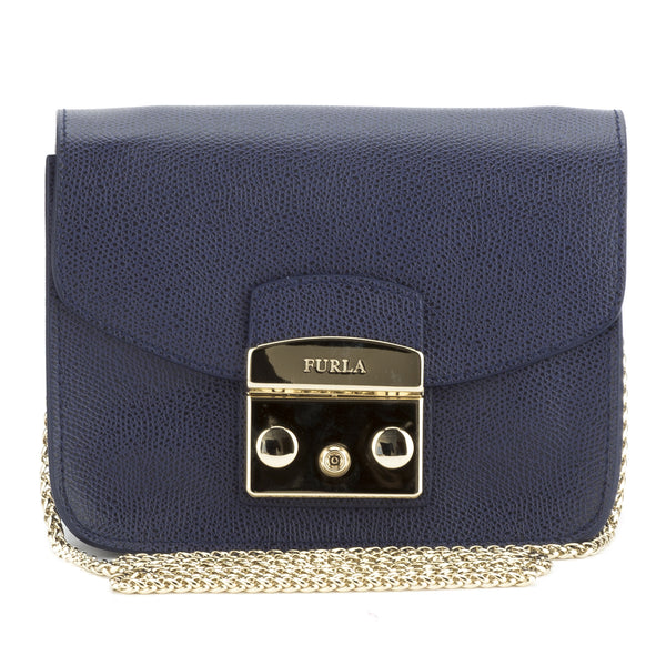 FURLA Blue Metropolis crossbody (New with Tags)