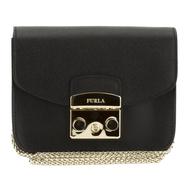 FURLA Black Metropolis crossbody (New with Tags)