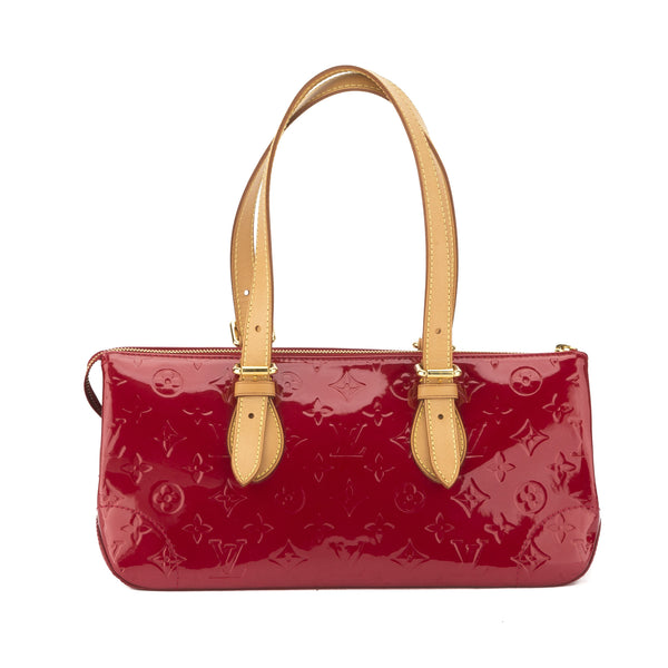 1f0276cf03e2 Louis Vuitton Red Vernis Rosewood Ave (Authentic Pre Owned ...