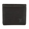 Louis Vuitton Epi Black Porte Monnaie Boite Coin Purse (Pre Owned)