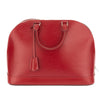 Louis Vuitton Red Epi Alma GM Bag (Pre Owned)