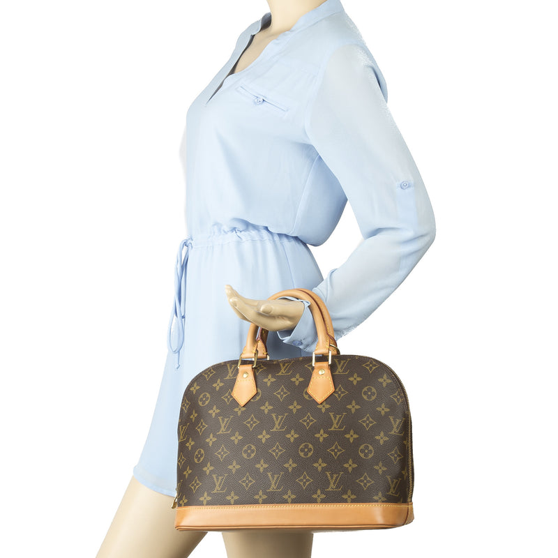 Louis Vuitton Monogram Alma PM Bag (Ahutentic Pre owned)