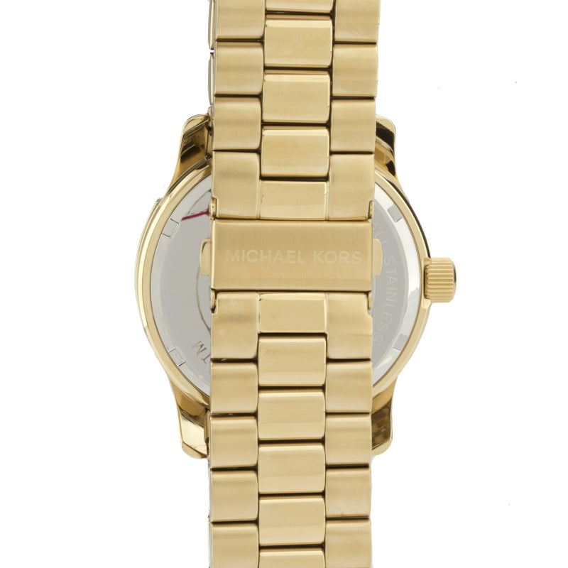 Michael Kors Gold-Tone Stainless Steel Bracelet Watch (New with Tags)