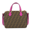 Fendi Zucca Logo Jacquard Satchel (New with Tags)