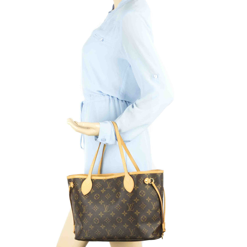 Louis Vuitton Monogram Neverfull PM Bag (Authentic Pre Owned)