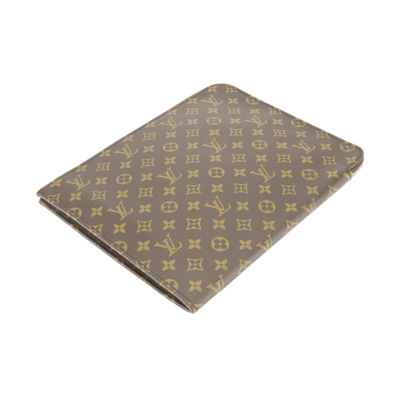 Louis Vuitton Monogram Poche Porte Documents  (Pre Owned)