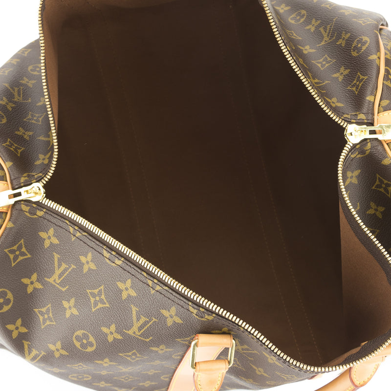 Louis Vuitton Monogram Keepall Bandouliere 50 Bag (Pre Owned)