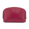 Louis Vuitton Red Epi Cosmetic Pouch (Pre Owned)