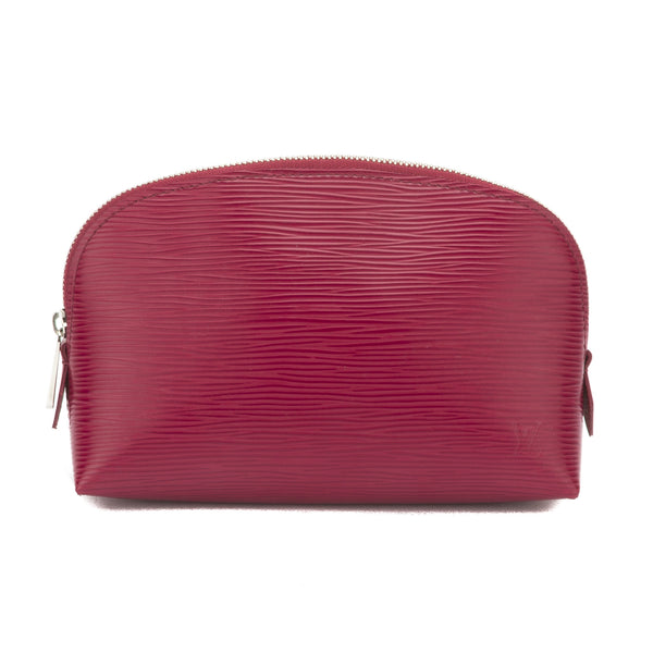 Louis Vuitton Red Epi Cosmetic Pouch (2690008)