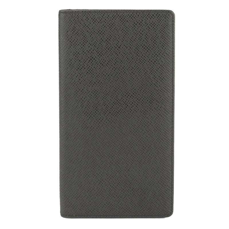 Louis Vuitton Black Taiga Wallet (Pre Owned)
