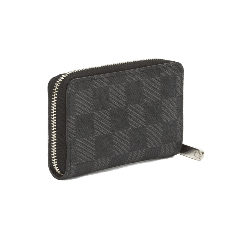 Louis Vuitton Damier Graphite Zippy Coin Purse (Pre Owned)