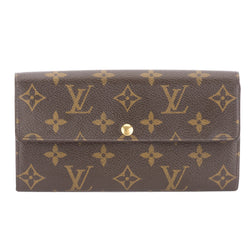 Louis Vuitton Monogram Portefeuille Sarah Wallet (Pre Owned)