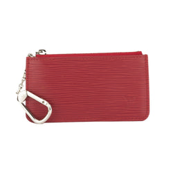Louis Vuitton Red Epi Coin Purse Key (Authentic Pre Owned)