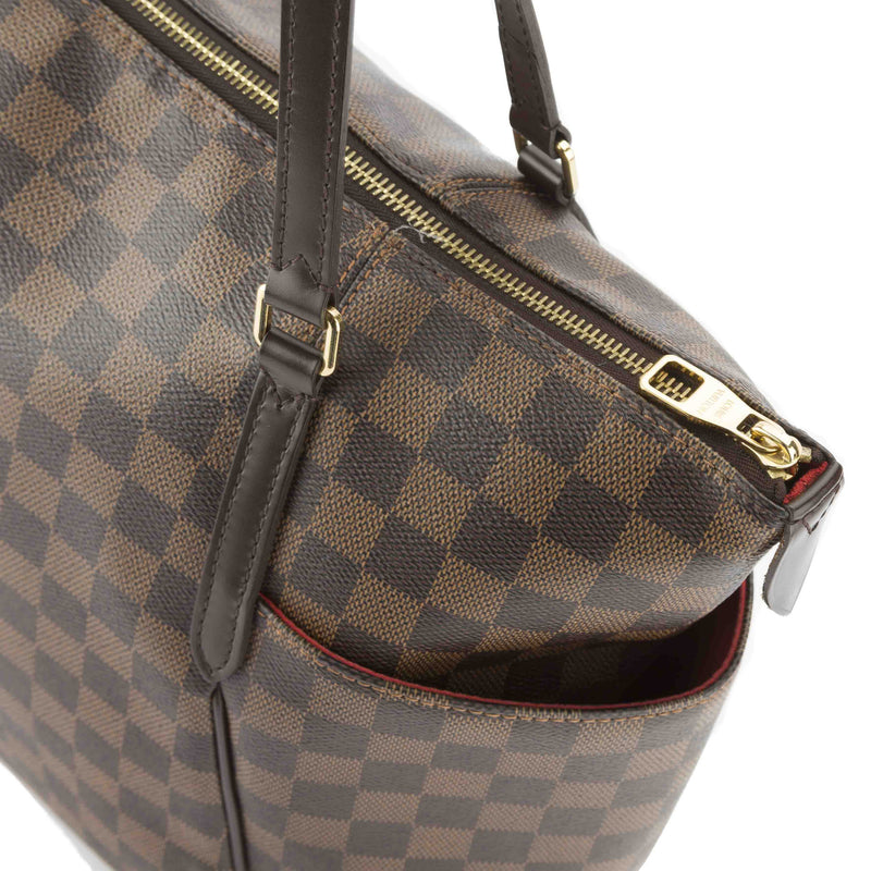 Louis Vuitton Damier Ebene Totally MM Bag (Pre Owned)