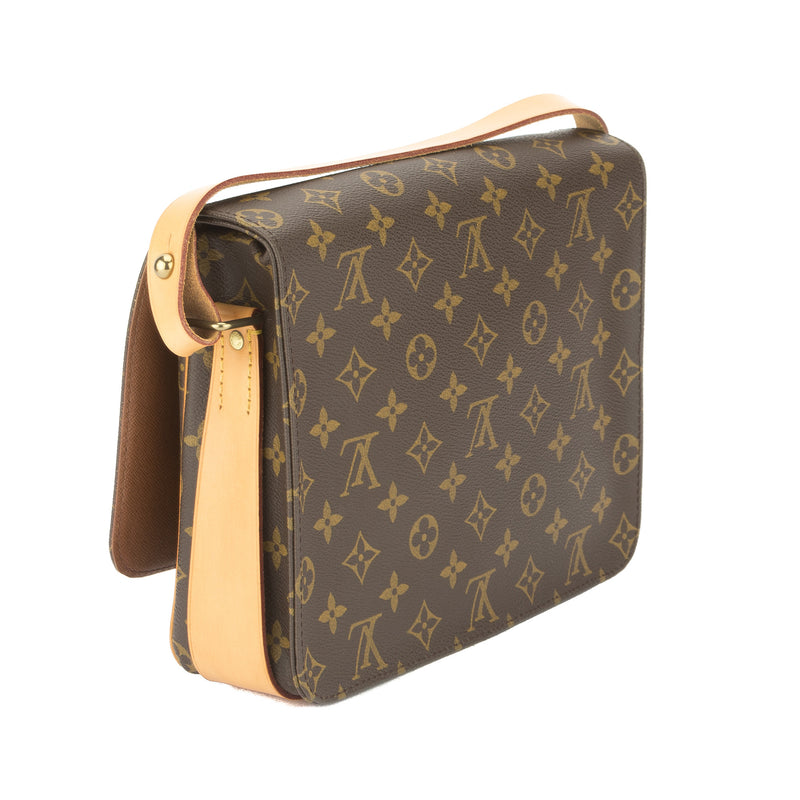Louis Vuitton Monogram Cartouchiere Shoulder Bag  (Pre Owned)