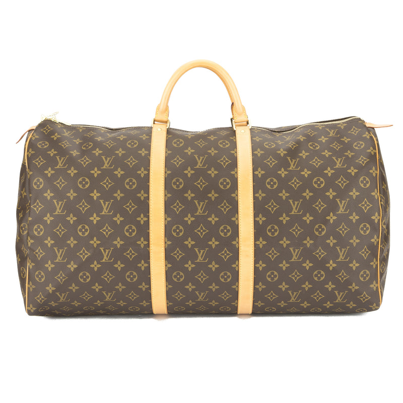 Louis Vuitton Monogram Keepall 60 Boston (Authentic Pre Owned)