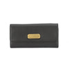 Marc Jacobs Black Classic Q Long Trifold Wallet (New with Tags)