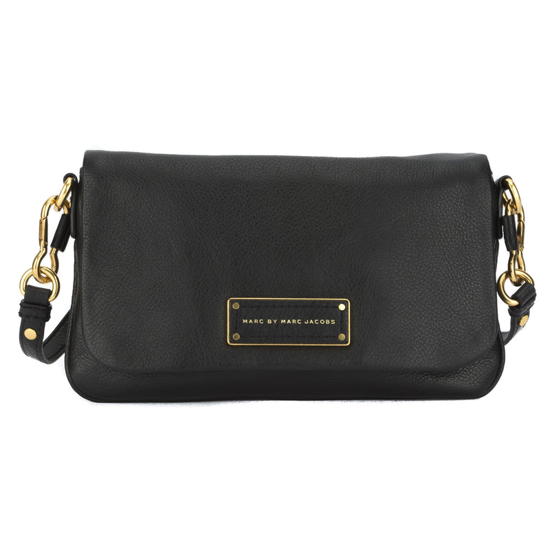Marc Jacobs Black Too Hot to Handle Flap Percy (New with Tags)