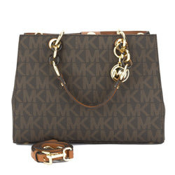 Michael Kors Brown Cynthia Medium Satchel (New with Tags)