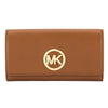 Michael Kors Tan Fulton Carryall Wallet (New with Tags)