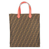 Fendi Tabacco Moro Zucca Shopping Tote (New with Tags)