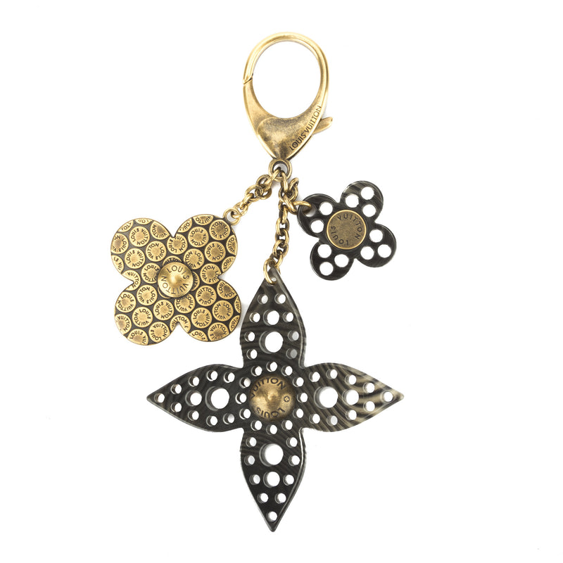 Louis Vuitton Gold Key Holder Charm (Authentic Pre Owned)