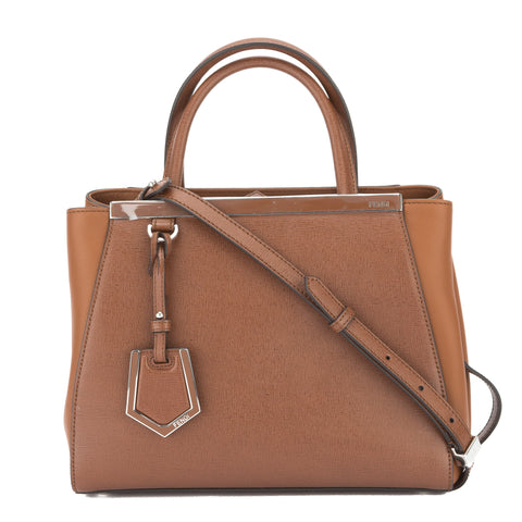 Fendi Marrone 'Petit 2Jours Elite' Shopper (New withTags)